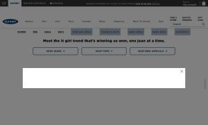 Old Navyウェブサイトサムネイル