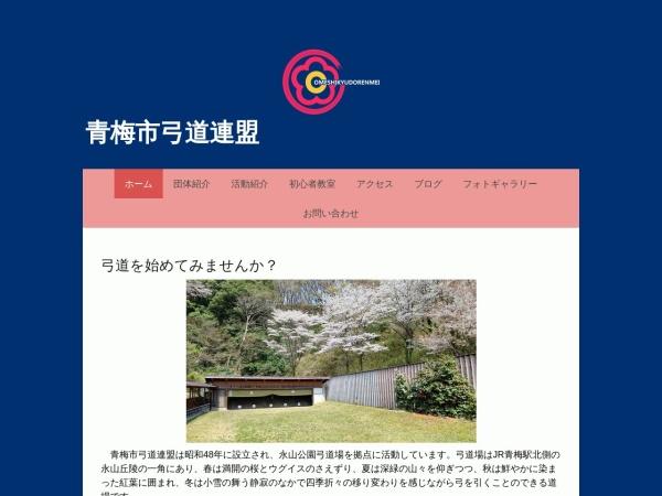 Screenshot of ome-kyudo.jimdofree.com