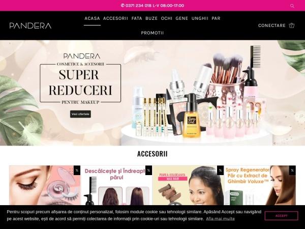 Screenshot of pandera.ro