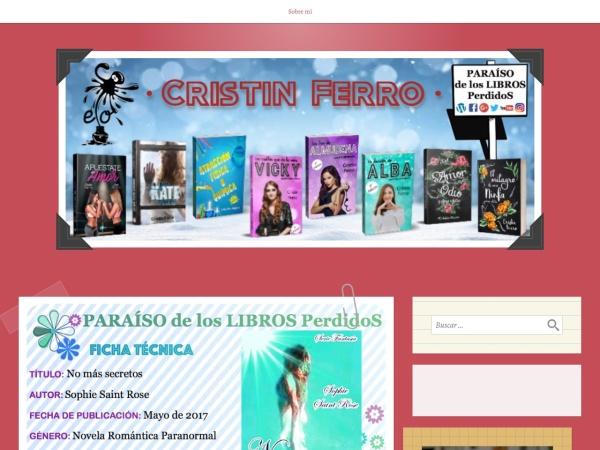 Captura de pantalla de paraisodeloslibrosperdidos.wordpress.com