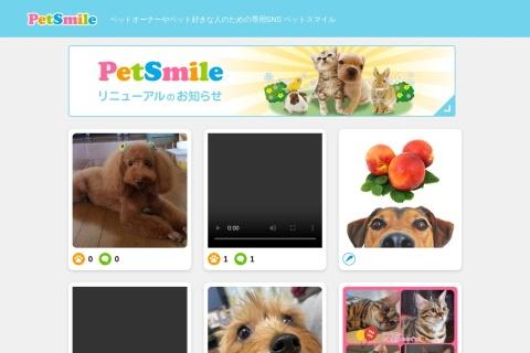 Screenshot of pet-smile.net