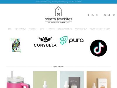 Screenshot of pharmfavorites.com