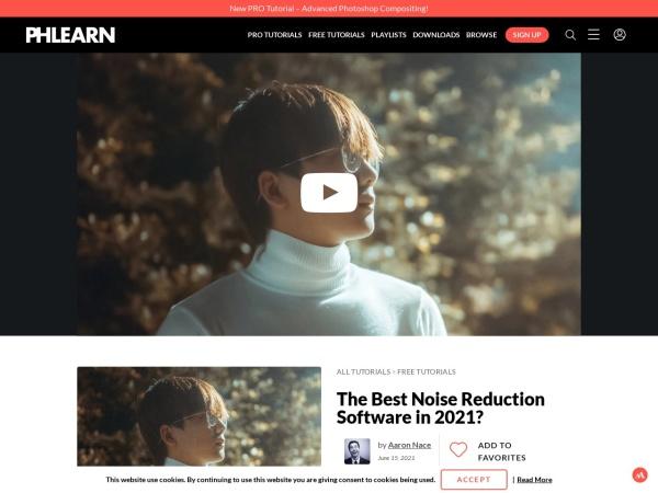 Screenshot of phlearn.com