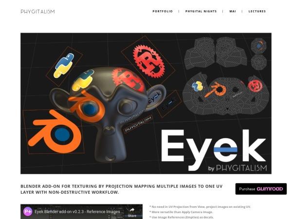 Screenshot of phygitalism.com