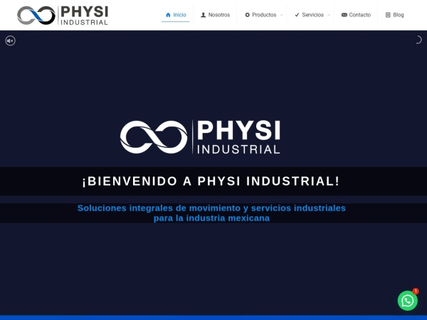 Captura de pantalla de physi.com.mx