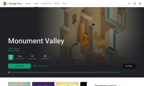 https://play.google.com/store/apps/details?id=com.ustwo.monumentvalley&hl=ja