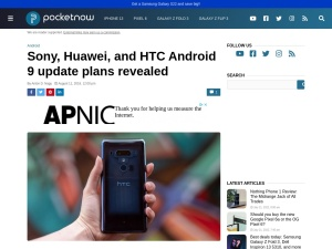 https://pocketnow.com/sony-htc-android-9-update