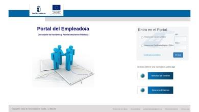 Inicio Portal - Portal del Empleado/a