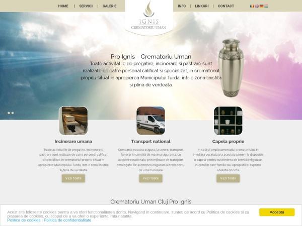 Screenshot of proignis.ro