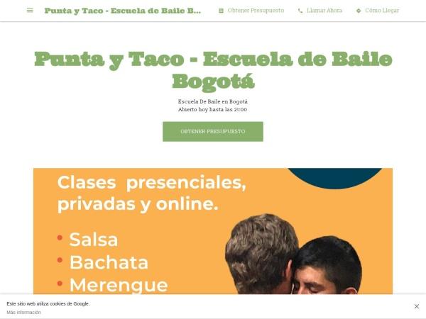 Captura de pantalla de puntaytaco.business.site