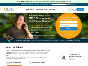 Q Link Wireless – Free Cell Phone Service with Government ...