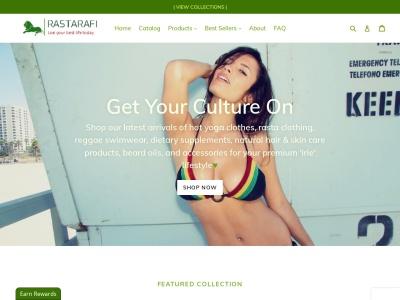 Screenshot of rastarafi.com
