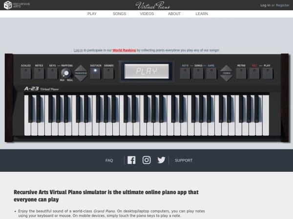 Screenshot of recursivearts.com
