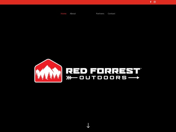 Screenshot of redforrestoutdoors.com