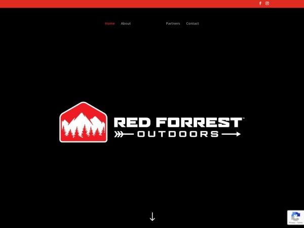 Screenshot of redforrestoutdoors.com