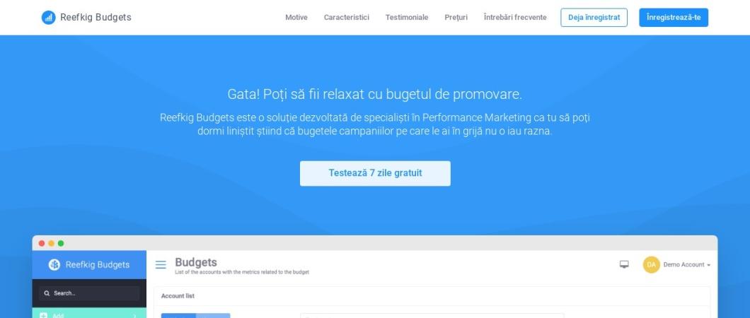 Screenshot of reefkig.com