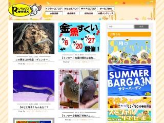 Screenshot of remix-net.co.jp