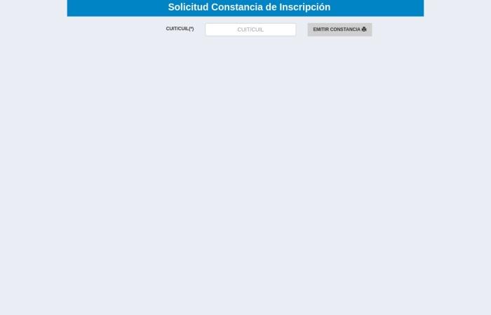 Captura de pantalla de rentasneuquenweb.gob.ar