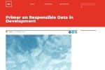 Screenshot of responsibledata.io