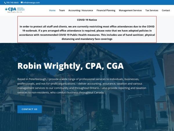 Screenshot of rewcga.com