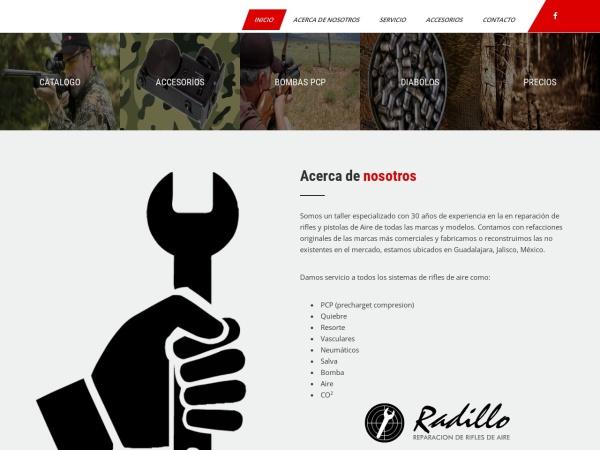 Captura de pantalla de riflesgamo.com.mx