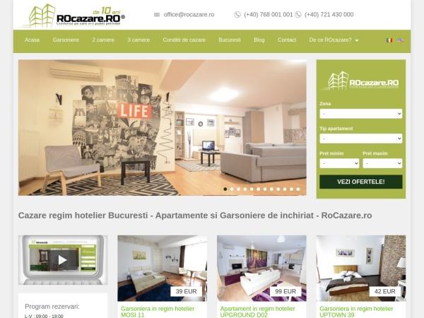 Screenshot of rocazare.ro