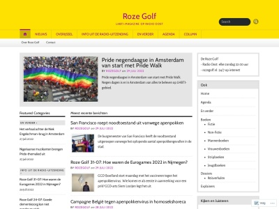Roze Golf Screenshot