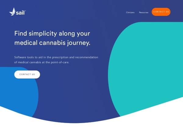 Screenshot of sailcannabis.co