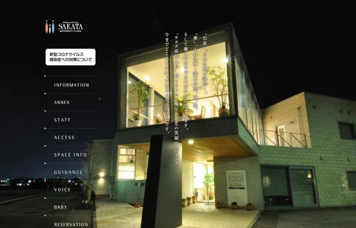 Screenshot of sakata-mc.com