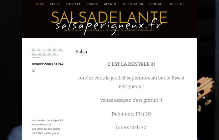 Perigord-infos.fr L'école de Salsa à Périgueux
