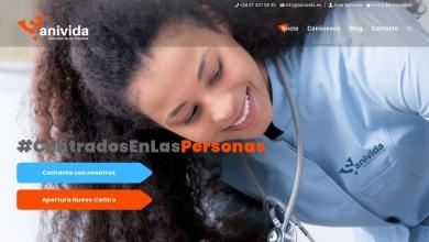 Inicio - SANIVIDA - Centrados en las Personas