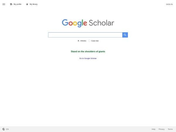 Screenshot of scholar.google.co.jp