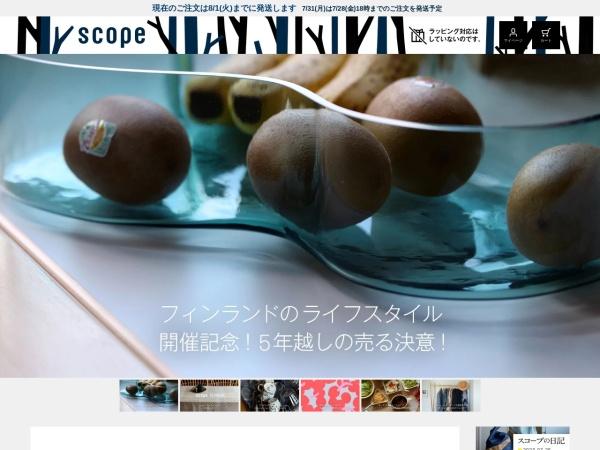 Screenshot of scope.ne.jp