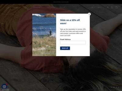 Screenshot of seapathclothing.com