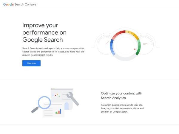 Screenshot of search.google.com