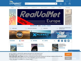 Screenshot of secure.simmarket.com