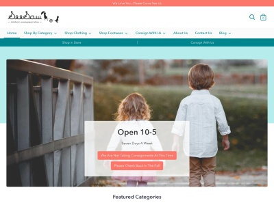 Screenshot of seesaw4kids.com