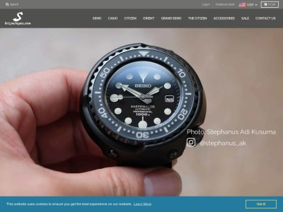 Screenshot of seiyajapan.com