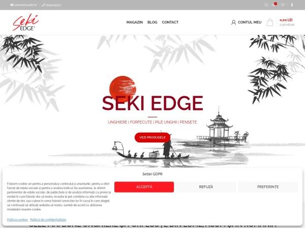 Screenshot of seki.ro