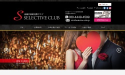 Screenshot of selective-club.jp