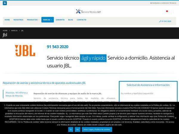 Captura de pantalla de servicio-tecnico-oficial.com