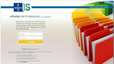 Portal Único del Empleado del SESCAM - Servicio de Salud ...