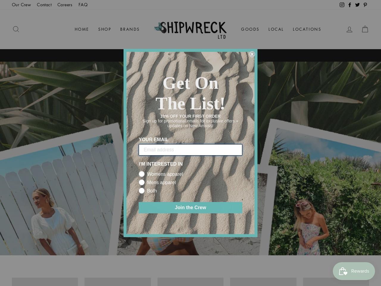 shipwreckltd.com