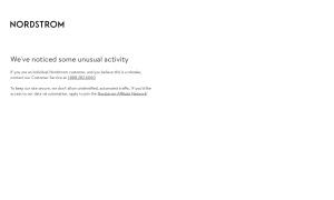 Nordstromウェブサイトサムネイル