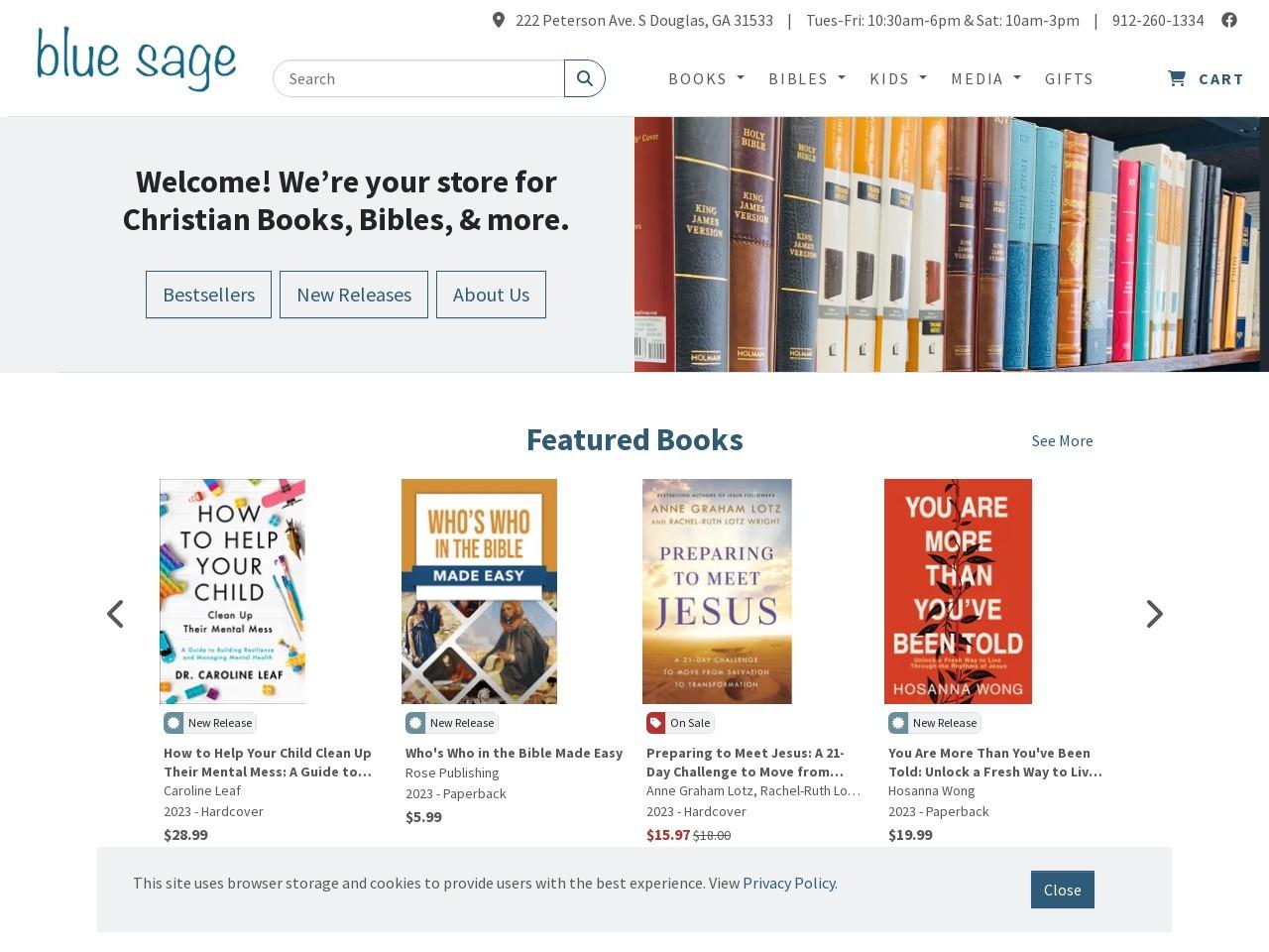 shopbluesage.com