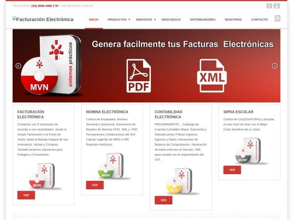 Captura de pantalla de sistemaspracticos.com.mx