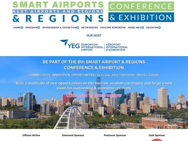 Screenshot of smart-airports.com