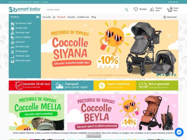 Screenshot of smart-baby.ro
