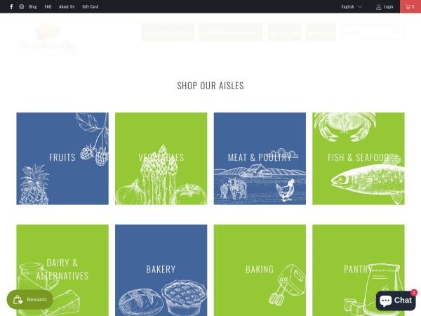 Screenshot of smoothiesgo.com