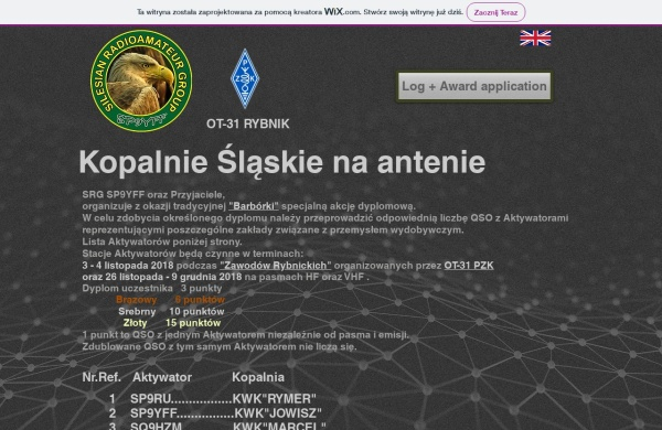 Screenshot of smota.pzk.pl